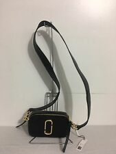 MARC JACOBS Snapshot Leather Camera Bag  Style # M0008906, Black
