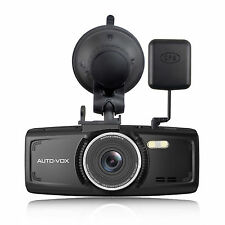 Autovox D1 2.7″ Night Vision DVR Dash Camera with Free GPS module 32G sd card