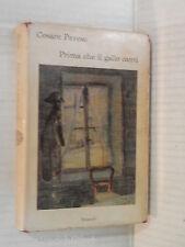 PRIMA CHE IL GALLO CANTI Cesare Pavese Einaudi I coralli 34 1962 romanzo libro