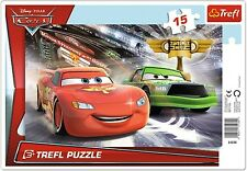 Trefl 15 PEZZI BAMBINO KIDS BOYS bambino Disney Pixar Cars TELAIO Floor Puzzle