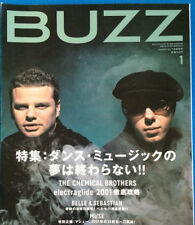 BUZZ Japan Music Magazine 1/2002 #30 Chemical Brothers Six By Seven Fatboy Slim