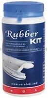 RIB INFLATABLE REPAIR KIT BLACK DINGHY RUBBER   RRKBK