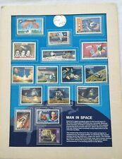 USA Mint Stamps x 16 American Space Accomplishments Ltd Display Page M868