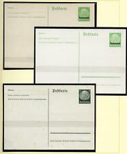 German Reich/Lothringen covers 1940 3 ovpt Pcs not sent