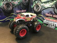 Hot Wheels Monster Jam Truck 1/64 Rare Diecast Metal Wonder Woman