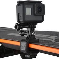 Skateboard Handlebar Rotatable Clip Mount Bracket Holder for GoPro Hero Camera