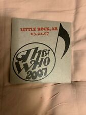 The Who Encore Series Little Rock Arkansas 3/22/07 2 CDs