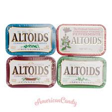 10x Altoids US Candy (4 variétés choix: Wintergreen, CANNELLE ) ( 67,98€/ 1kg)