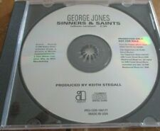 George Jones, Sinners & Saints CD Single, PROMO, Asylum, 2000