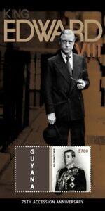Guyana - 2012- King Edward VIII 75th Accession Anniversary - Souvenir Sheet -MNH