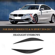 Carbon Fiber Headlight Eyelids Eyebrows For BMW F32 F33 F36 F82 F83 M4 F80 M3