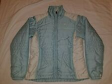 THE NORTH FACE WOMENS PUFFER STYLE QUILTED INSULATED JACKET BABY BLUE M
