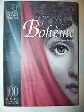 Libretto Teatro Torino Opera Lirica - Puccini: Bohème 1996 Ricordi anastatica