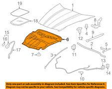 Chevrolet GM OEM 08-13 Corvette Hood-Insulation Pad Liner Heat Shield 25958874