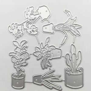 1x Flower Grass Set Paper Cut Metal Craft Dies Card Making Stencils Scrapbooking