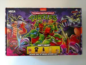 NECA Ninja Turtles Large Stern Pinball Crate Box Loot New Sealed TMNT Free Ship