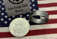 1964-1969  US JFK Coin Ring Half Dollar Silver