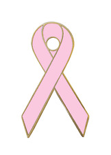 More details for breast cancer awareness pink ribbon pin badge
