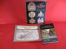 3 Railway Paperbacks. Swanage. Lakeside & Haverthwaite & Pre-Grouping Railways