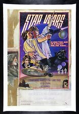 STAR WARS ✯ CineMasterpieces RARE ROLLED STYLE D LINEN ORIGINAL MOVIE POSTER
