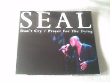 SEAL - DON'T CRY / PRAYER FOR THE DYING - UK CD SINGLE