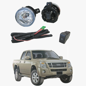 Fog Light Kit for Holden Rodeo RA 01/2007-09/2008 W/Wiring&Switch