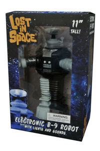 Lost In Space B9 Robot Antimatter Electronic Figure B/W Anti matter (TESTED)