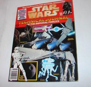 Star Wars Technical Journal Magazine Vol 2 Starlog Publicaton  #2 nice     1013