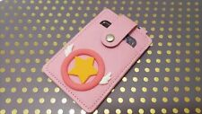 Cardcaptor Sakura Star Wand Cute Girls Money Coin Ic Card Holder Credit Card Ccs