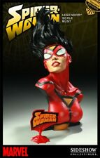 SIDESHOW SPIDER-WOMAN LEGENDARY Scale Bust EXCLUSIVE STATUE MARVEL SPIDER-MAN