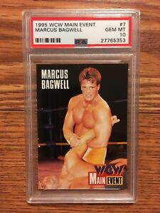 1995 Cardz WCW Main Event Marcus Buff Bagwell Rookie Wrestling Card PSA 10 WWE
