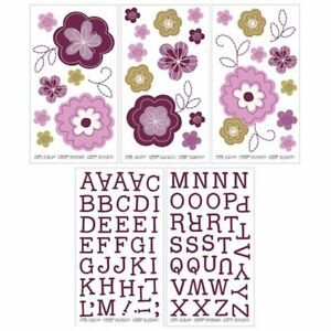 Pretty in Purple Removable Wall Decals by NoJo