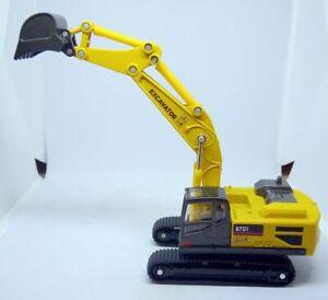 Play smart Excavator Scale 1:55 Diecast Metal model. NEW /