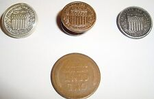 3 Vintage American Red Cross Blood Donor Pins 1 is Plastic 1 has Sterling Nut ++