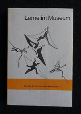 Lerne im Museum - 182 Themen zur Naturgeschichte aus dem Senckenberg-Museum