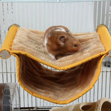 Cage Pet Toy Mouse Rat Hamster Hammock Swing Bed Hanging Accessories