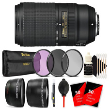 Nikon AF-P DX NIKKOR 70-300mm f/4.5-6.3G ED VR Lens and Top Kit