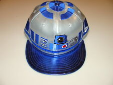 New Era Cap Hat Star Wars The Force Awakens Character Face R2D2 Blue Droid 7 5/8