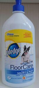 Pledge Floor Care Multi Surface Squirt & Mop 27 oz Citrus Scent New Old Stock
