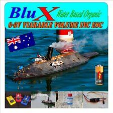 RC Smoke Generator Model Boat 6-8 Volt  Variable Volume ESC  BluX Water Based