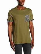 534 New Look Men/'s Subtle Nibbled Boxy T-Shirt Size XS