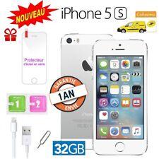 Neuf Apple iPhone 5s 32go 32GB unlocked DÉBLOQUÉ Téléphones Mobile - Argent FR