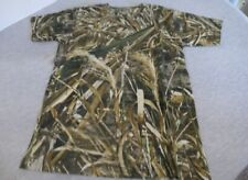 Gamewinner Realtree Max 5 Camo Camouflage Soft Short Sleeved T Shirt Youth