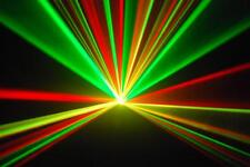 RAVE DISCO LASER LIGHT FULL COLOUR WITH RED YELLOW AND GREEN dj party karaoke