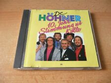 CD De Höhner - 10 Johr Stimmung us Kölle - 14 Songs