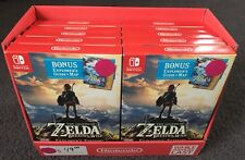 x10 Legend of Zelda: Breath of the Wild - Explorer's Edition Nintendo Switch NEW