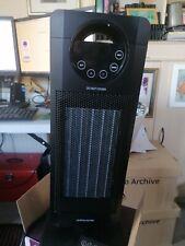Oscillating tower fan heater with remote control BNIB