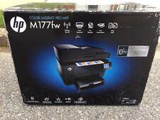 NEW HP Color LaserJet Pro MFP M177FW Laser-Printer/Copier/Scanner/Fax Wireless