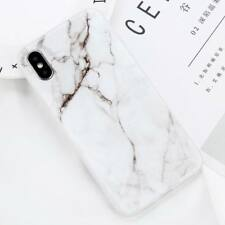 For iPhone X 8 5 6S 7 Plus Marble Pattern Rubber Soft TPU Silicone Case Cover