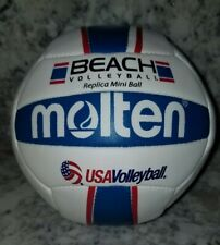 "Molten Mini Volleyball USA BEACH VOLLEYBALL Red/White/Blue 5.5"" replica"